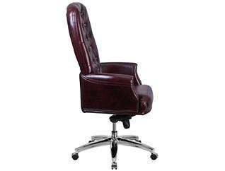 Rob Hi-Back Red Desk Chair, , large