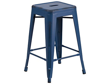 "Kennedy 24"" Counter Stool, Blue, , large"