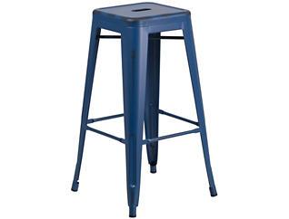 """Kennedy 30"""" Barstool, Blue, , large"""
