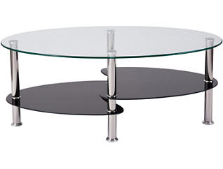 Dane Glass Top Coffee Table, , large