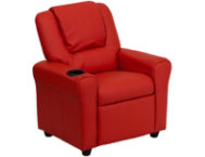 shop Kids-Red-Vinyl-Recliner