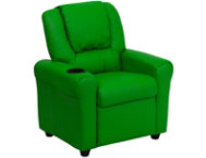 shop Kids-Green-Vinyl-Recliner