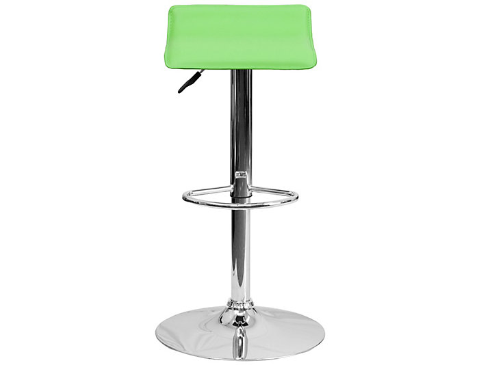 Green Gas Lift Barstool Art Van Home