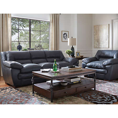 Living Rooms Leather Furniture Sets Shop Brady Collection Main