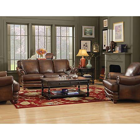 San Marco Leather Sofa MenzilperdeNet