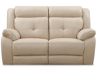 Torino Leather Power Reclining Loveseat, Taupe, , large