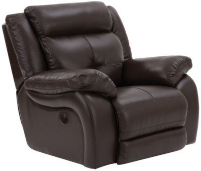 Torino Power Recliner, Chocolate, swatch