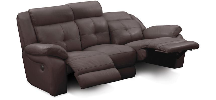 Torino Reclining Leather Sofa