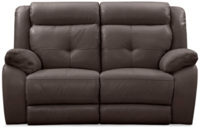 Torino Reclining Loveseat, Chocolate, swatch