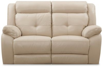 Torino Reclining Loveseat, Taupe, swatch