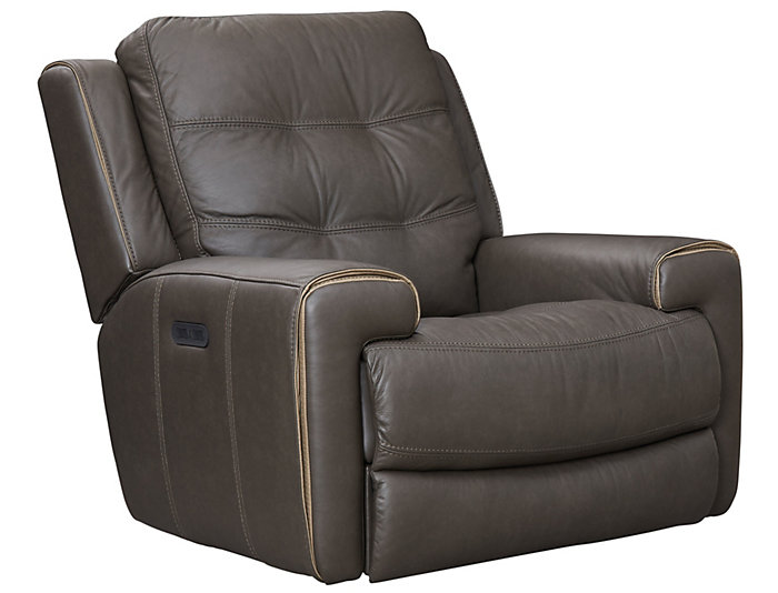 Wicklow Dual Power Glide Recliner, Chocolate, Chocolate, large