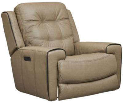 Wicklow Dual Power Glide Recliner, Taupe, swatch