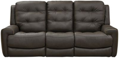 Wicklow Dual Power Reclining Sofa, Chocolate, Chocolate, swatch