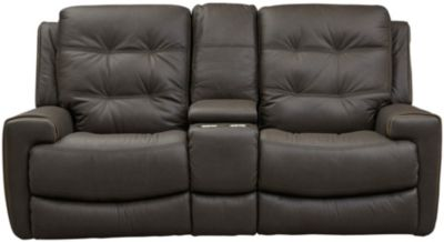 Wicklow Dual Power Reclining Loveseat, Chocolate, Chocolate, swatch