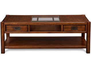 Sonoma Rectangular Coffee Table, Brown, , large