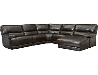 Dermott 5 Piece Reclining Sectional, , large