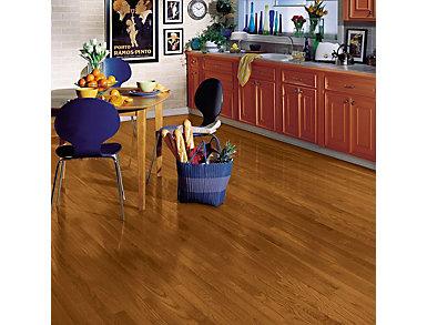 Yorkshire Strip Oak Auburn 3/4 x 2.25 in. Solid Hardwood                        $4.78 / sq. ft (20 sq. ft / case), , large
