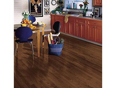 Yorkshire Strip Oak Umber 3/4 x 2.25 in. Solid Hardwood $4.78                   / sq. ft (20 sq. ft / case), , large