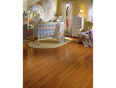 Waltham Strip Oak Brass 3/4 x 2.25 in. Solid Hardwood $4.38 /                   sq. ft ( 22 sq. ft / case), , large