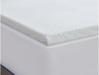 "2"" Memory Foam Twin Topper, , large"