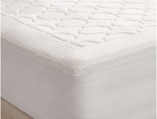 "3"" MF King Quilted Topper, , large"