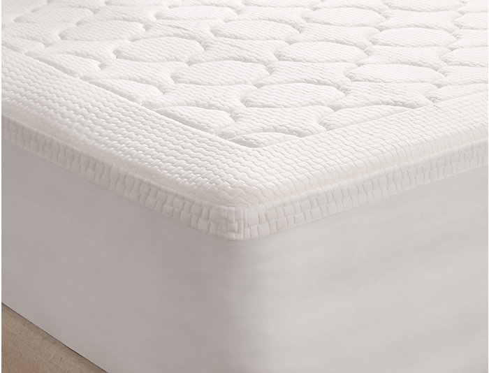 "3"" MF Twin Quilted Topper, , large"