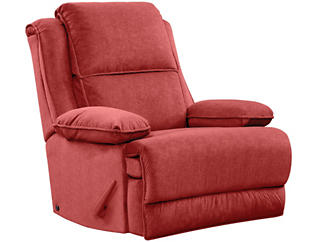 Art Van Signature II Massaging Recliner, Red, , large