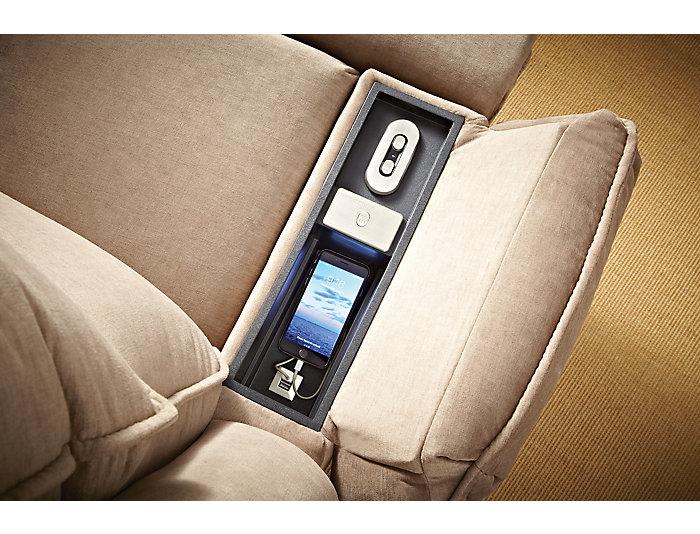 Art Van Power Massage Recliner, , large