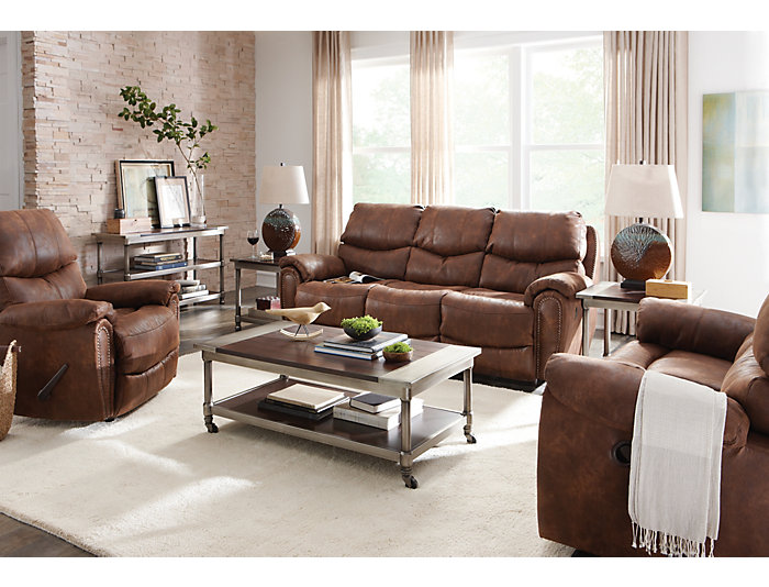 Richmond Reclining Loveseat, , large