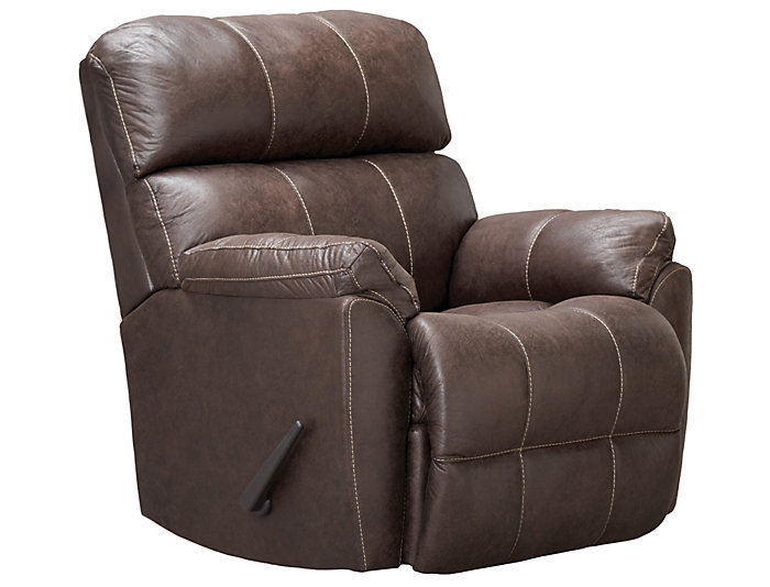Butler Wall Saver Recliner, Brown, , large