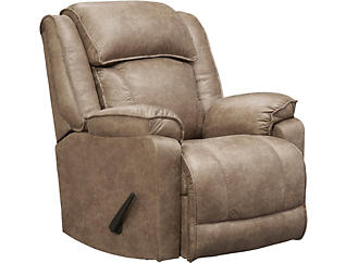 Franklin Marshall Rocker Recliner, Beige, , large