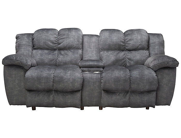 Franklin Cloud Reclining Loveseat, Grey, , large