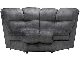 Franklin Cloud Sectional Wedge, Grey, , large