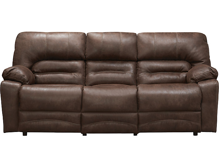 Franklin Legacy Reclining Sofa Brown Large