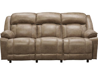 Franklin Marshall Reclining Sofa, Beige, , large