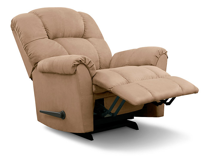 Aaron Wall Recliner, Brown, , large