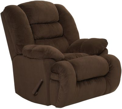 Arthur Rocker Recliner, Brown, Brown, swatch
