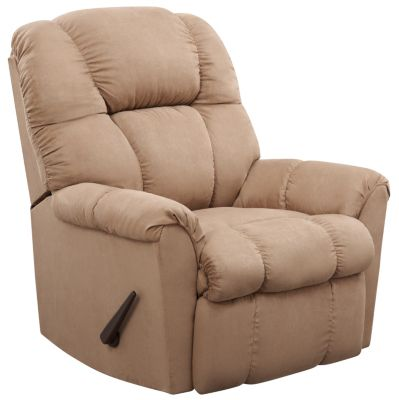 Aaron Rocker Recliner, Brown, swatch