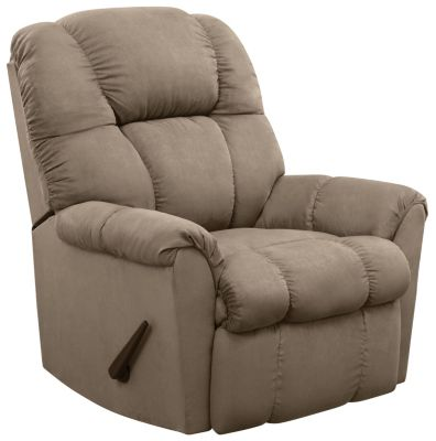 Aaron Rocker Recliner, Green, swatch