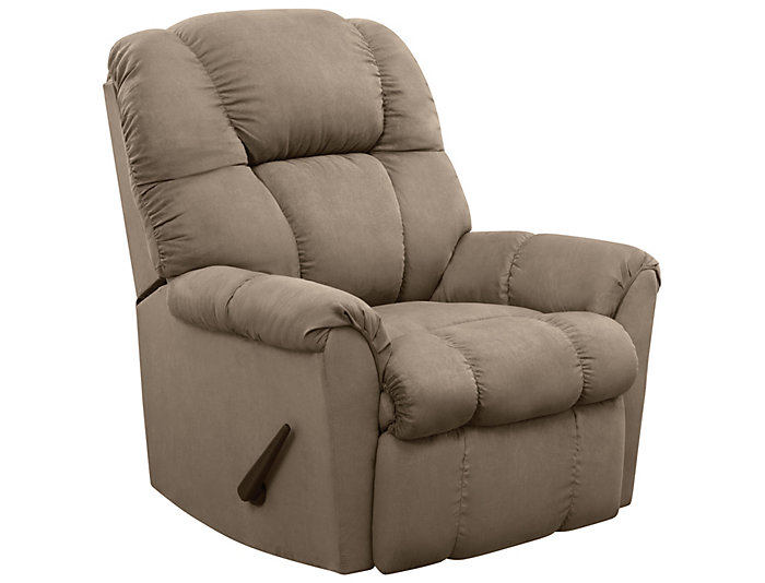 Aaron Rocker Recliner, Green, Green, large