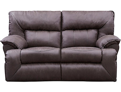 Hector Power Rocking Loveseat, , large