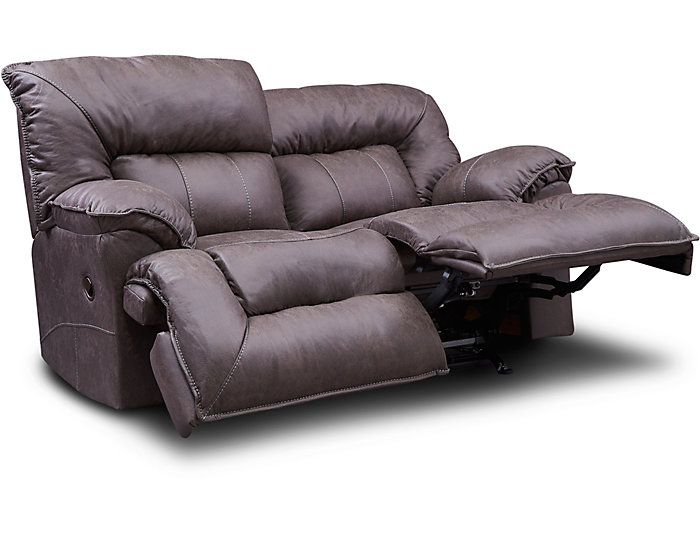 Amazing Hector Brown Rocking Reclining Loveseat Pabps2019 Chair Design Images Pabps2019Com