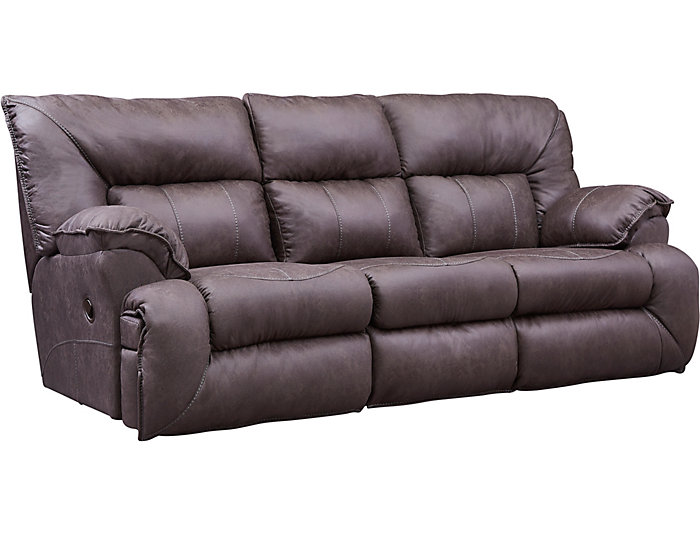 Hector Brown Reclining Sofa