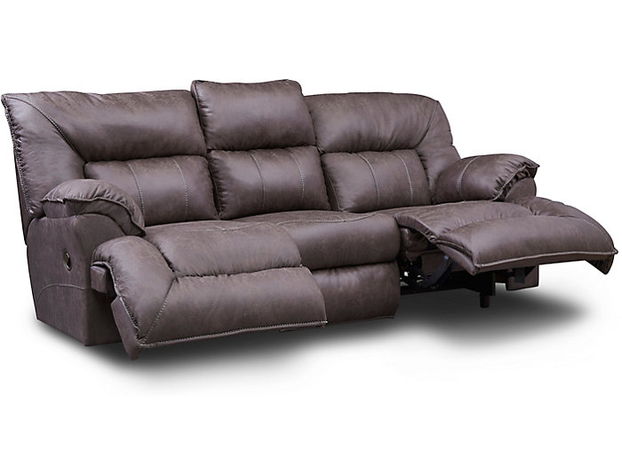 Remarkable Hector Brown Reclining Sofa Uwap Interior Chair Design Uwaporg