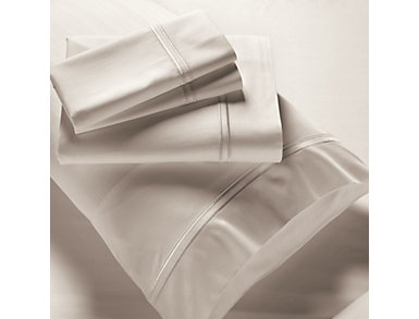 PureCare Premium Bamboo Rayon 400 Thread Count Ivory Full Sheet Set, , large