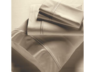 King Bamboo Sheet Set, Sand, , large