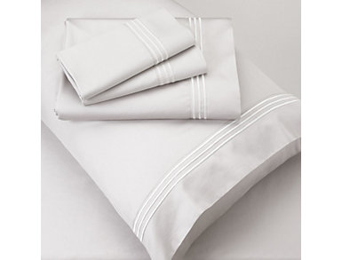 PureCare Premium Bamboo Rayon 400 Thread Count White Queen Sheet Set, , large