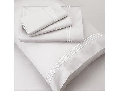 Twin Bamboo Sheet Set, White, , large