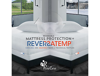 PureCare ReversaTemp 5-Sided Mattress Protector, California King, , large