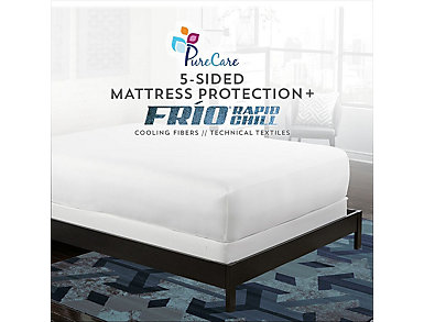 PureCare FRIO 5-sided Mattress Protector, King, , large
